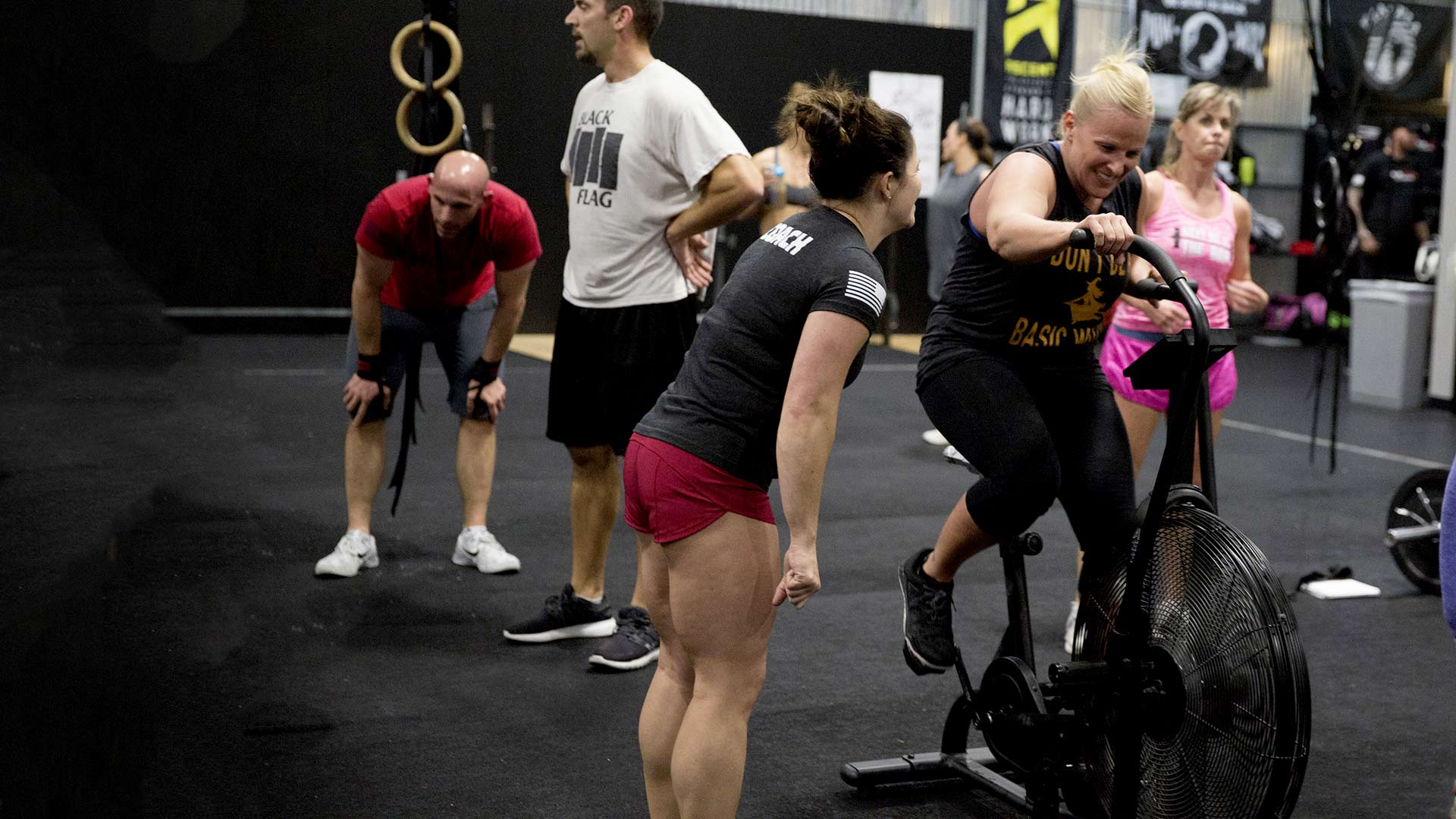 Making the most of your time at Iron Legacy Fitness.